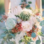 vjenčani buket boho