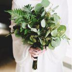 vjenčani buket zeleno