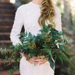 buket za vjenčanje zelenilo