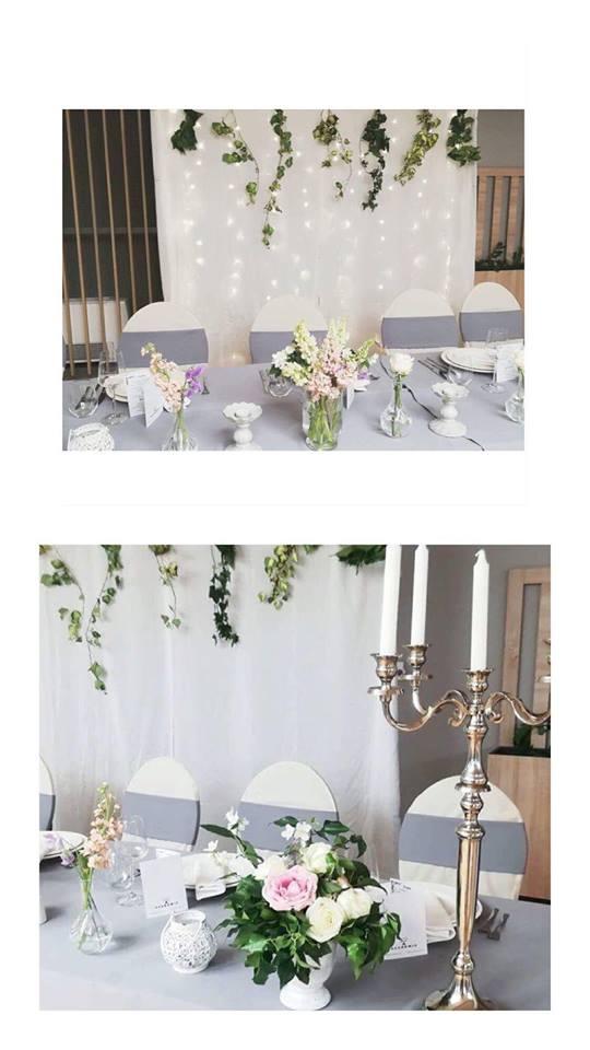 romantične cvjetne dekoracije