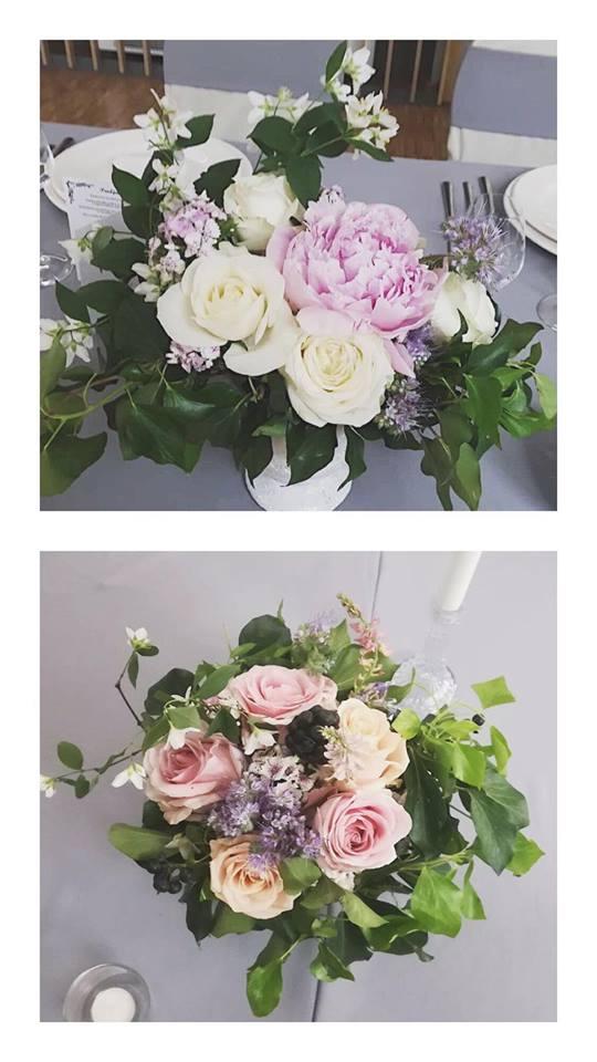hotel academia sala, romantične cvjetne dekoracije