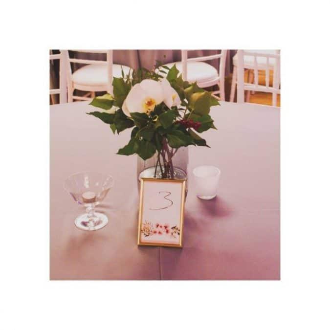 cvijeće za goste, vjenčanje