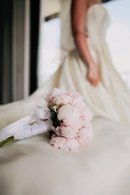 vjenčani buket božuri