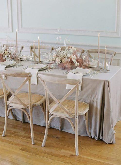 moderno vjenčanje dekoracije