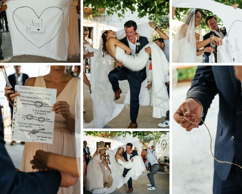 Konoba bajso, organizacija vjenčanja