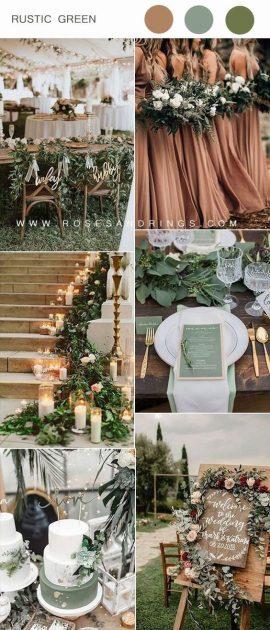 zelena boja za vjenčanje
