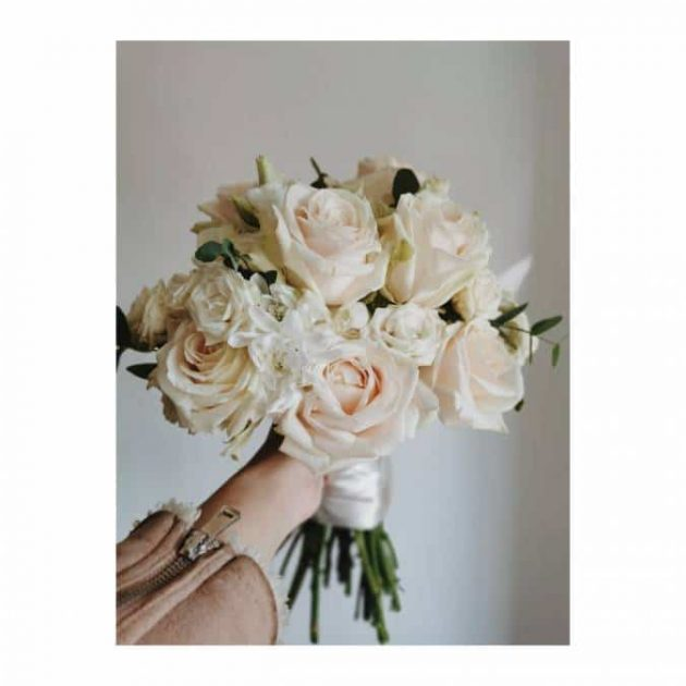 pastelni vjenčani buket